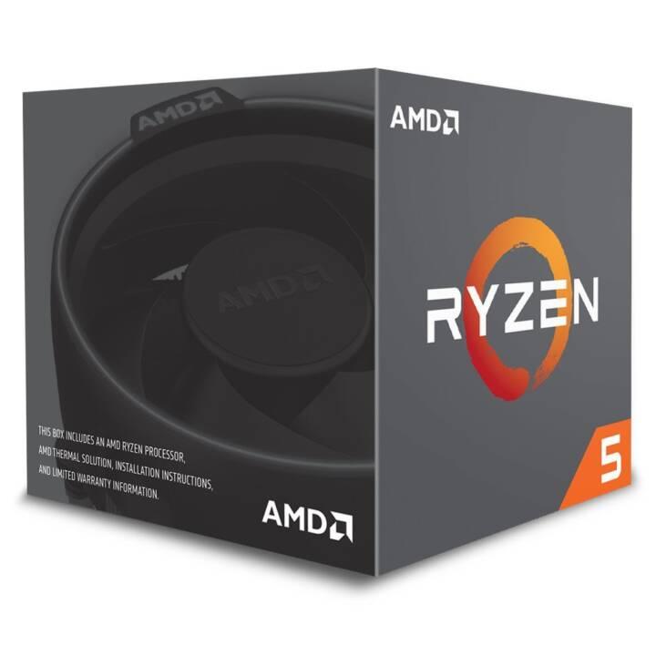 Processore AMD Ryzen 5 2600 / 3,9 GHz
