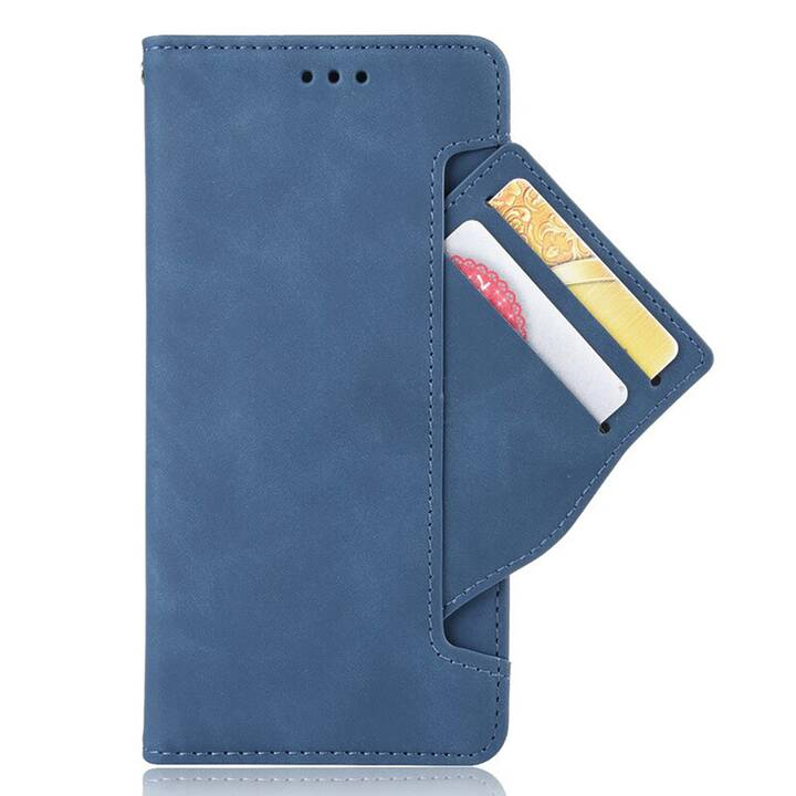 EG Mornrise custodia a portafoglio per Samsung A21S 6.5 '' (2020) - blu