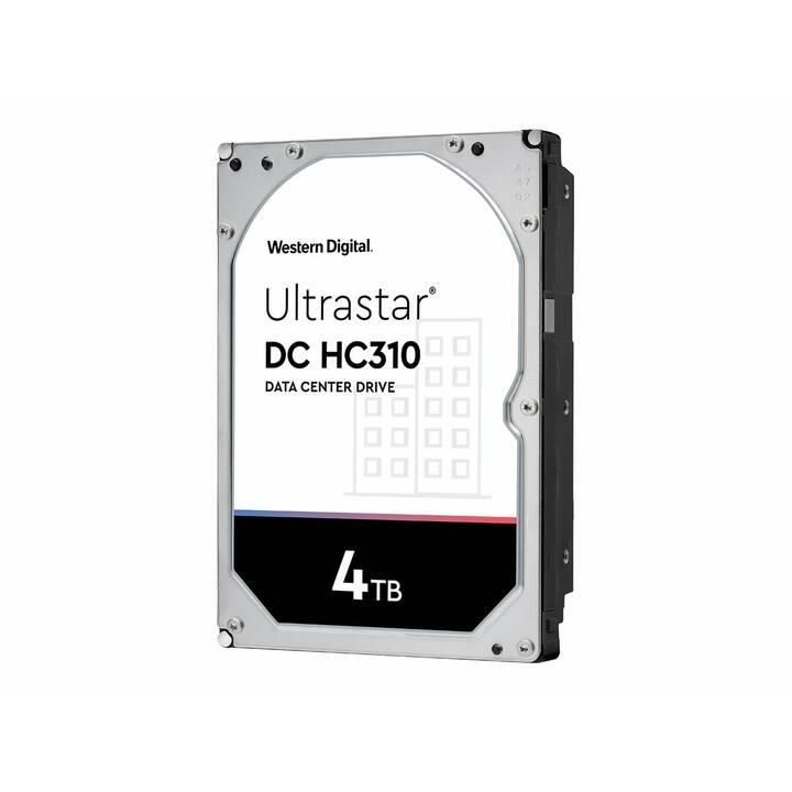 WD Ultrastrar 7K6 (SAS, 4 TB)