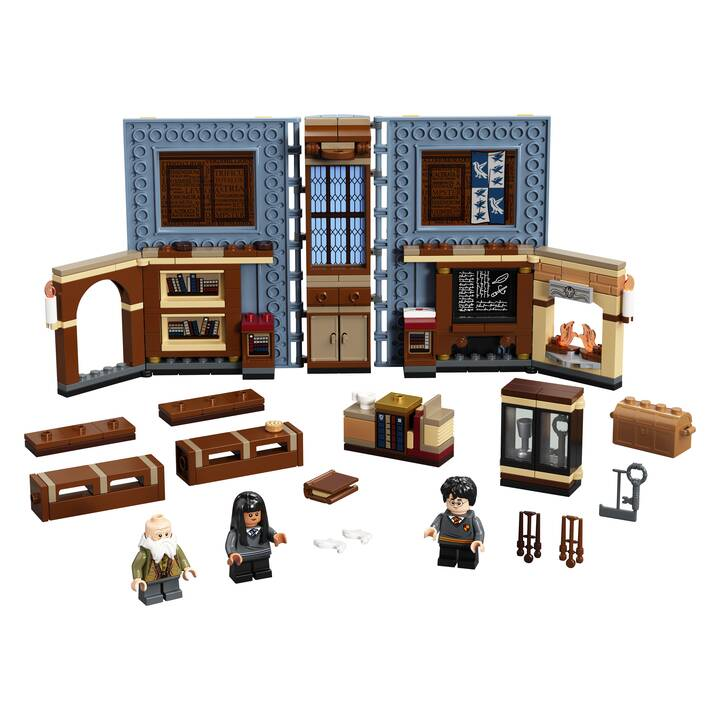 LEGO Harry Potter Lezione di incantesimi a Hogwarts (76385)