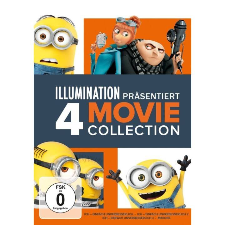 Minions 4 Movie Collection