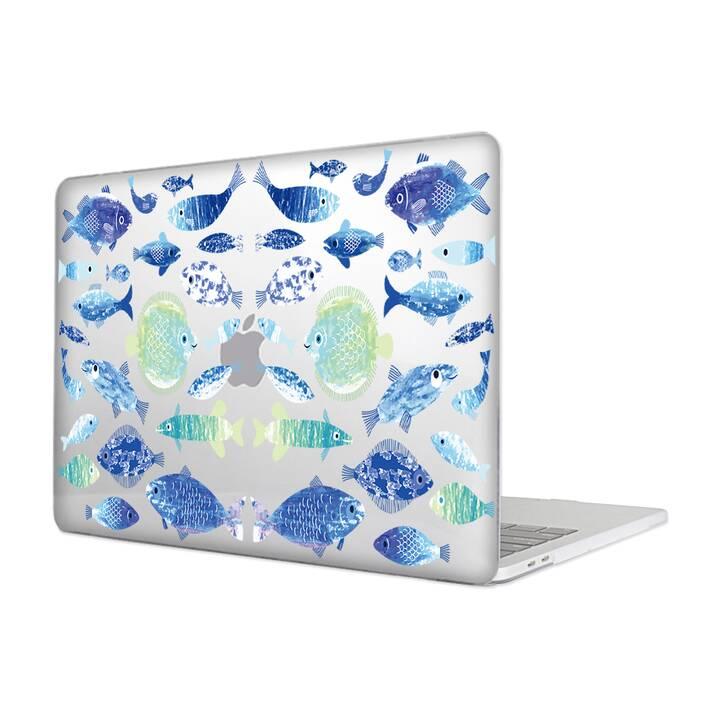 """EG MTT Cover per Macbook 12"""" Retina (2015-2018) - Pesci"""