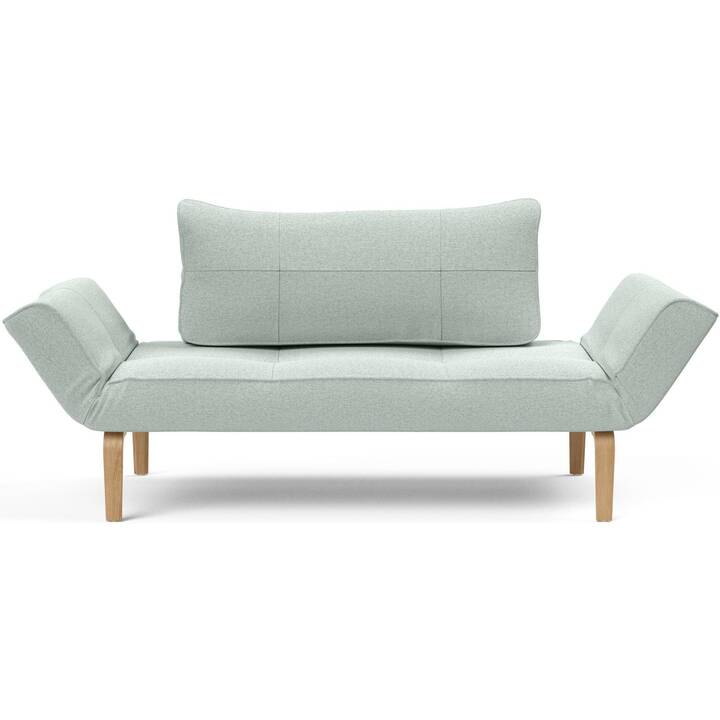 INNOVATION LIVING Daybed Zeal Bow Canapé-lit (Polyester, Bleu clair, 178 cm x 72 cm)