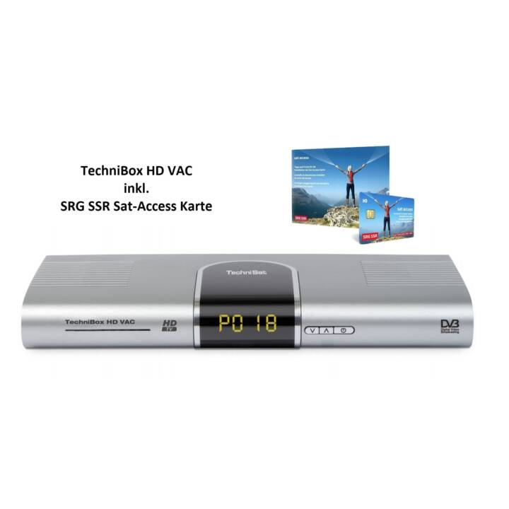 TECHNISAT TechniBox HD VAC SAT Ricevitore HD VAC SAT