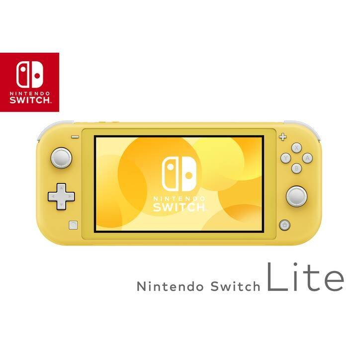 NINTENDO Switch Lite Yellow + Pokémon - Schild 32 GB (Allemand)