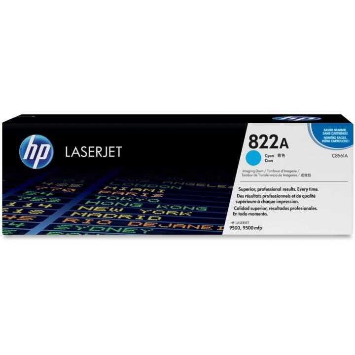 HP 822A (Einzeltoner, Cyan)
