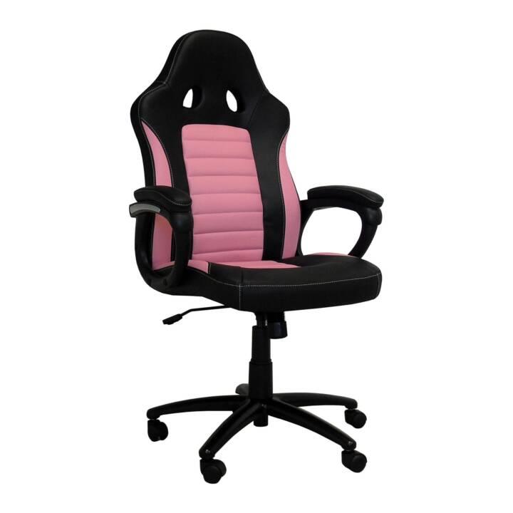 LC POWER CL-RC-BP Gaming Stuhl (Pink, Schwarz)