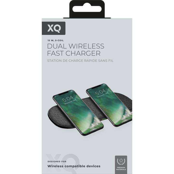 XQISIT Premium Multi Coil  Caricabatteria senza fili (1 A, 10 W)