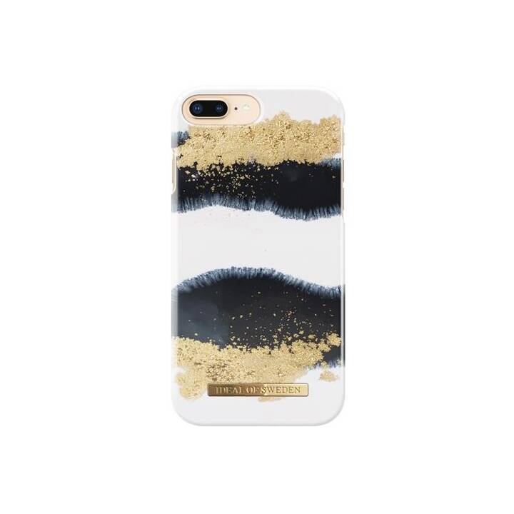 IDEAL OF SWEDEN Backcover Gleaming Licorice (iPhone 7 Plus, iPhone 8 Plus, iPhone 6s Plus, iPhone 6s, Gold, Schwarz)