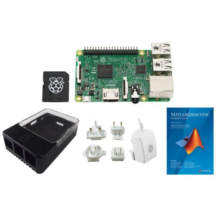RASPBERRY PI 3 MathWorks Starter Kit