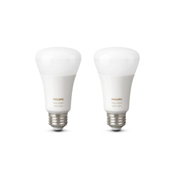PHILIPS Lampadina LED Hue White and Color Ambiance (E27, 9.5 W)