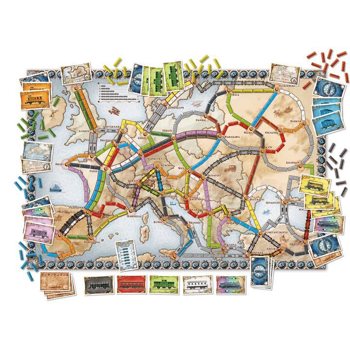 DAYS OF WONDER Ticket to Ride - Europe Gioco da tavolo