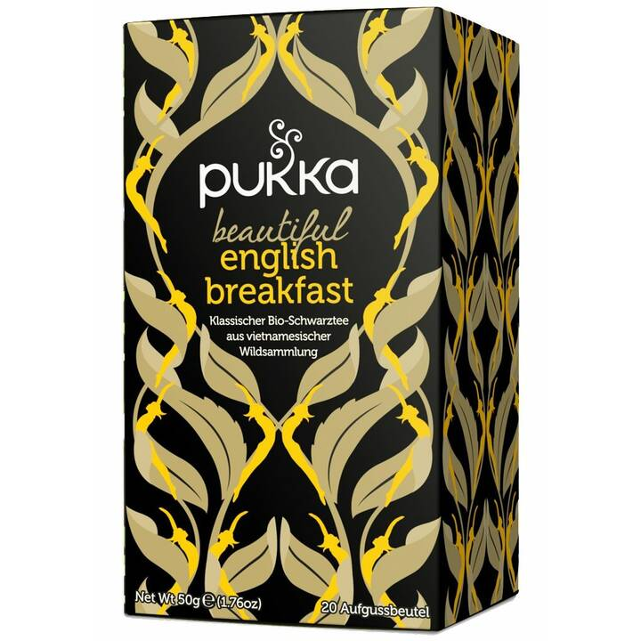 PUKKA Beautiful English Breakfast Tè nero (Bustina di tè, 20 pezzo)