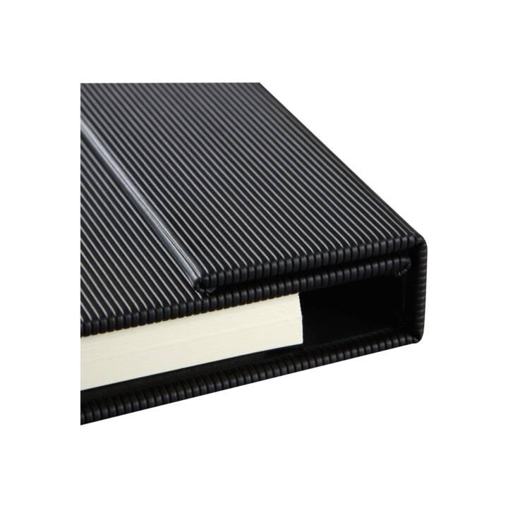 SIGEL Notizbuch Conceptum A4, Kariert, Black
