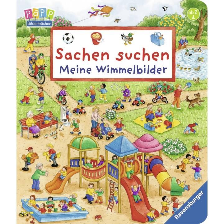 RAVENSBURGER Wimmelbuch Mes photos d'objets cachés