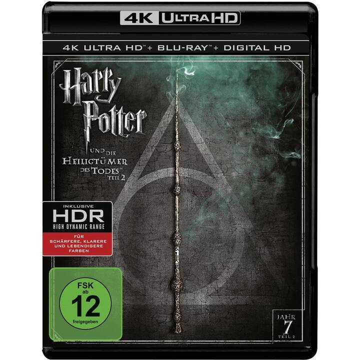 Harry Potter und die Heiligtümer des Todes - Teil 2 (4K Ultra HD, PL, ES, DE, NL, EN, FR)