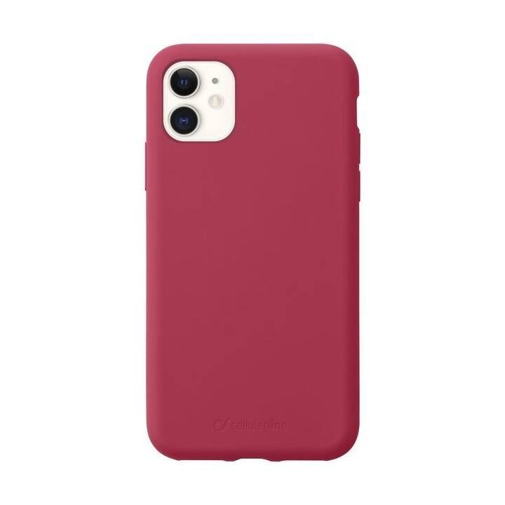 Cellular Line Custodia Sensation per iPhone XR Rosso