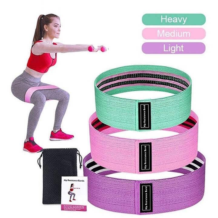 EG Fitness Widerstandsbänder 1 Set 3-tlg