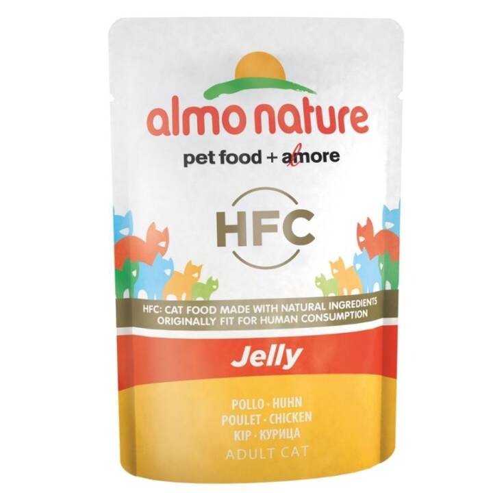 ALMO NATURE HFC Jelly (Adulte, 55 g, Poule)