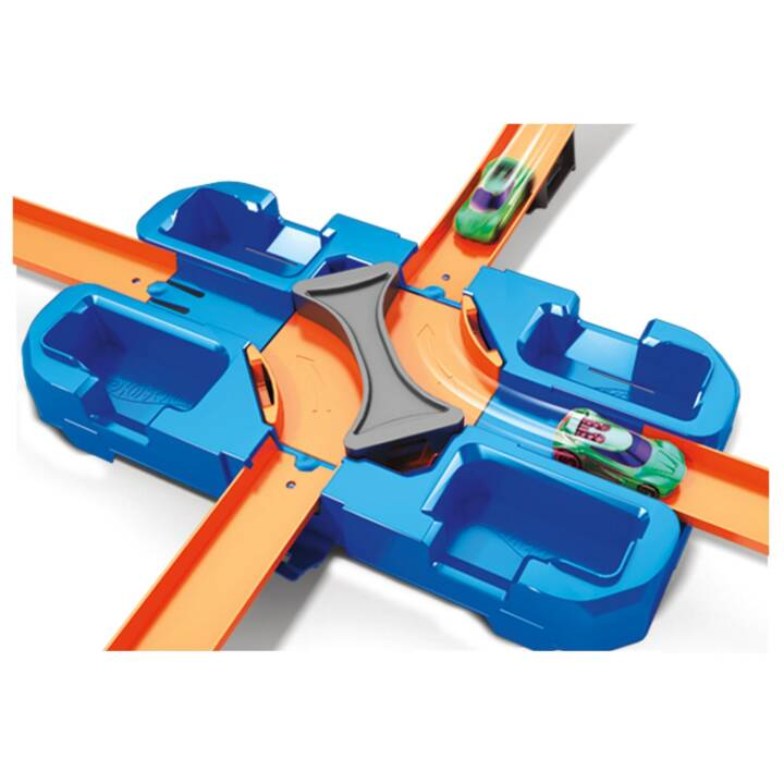 HOT WHEELS Track Builder Mega Stunt Box Pista delle macchinine