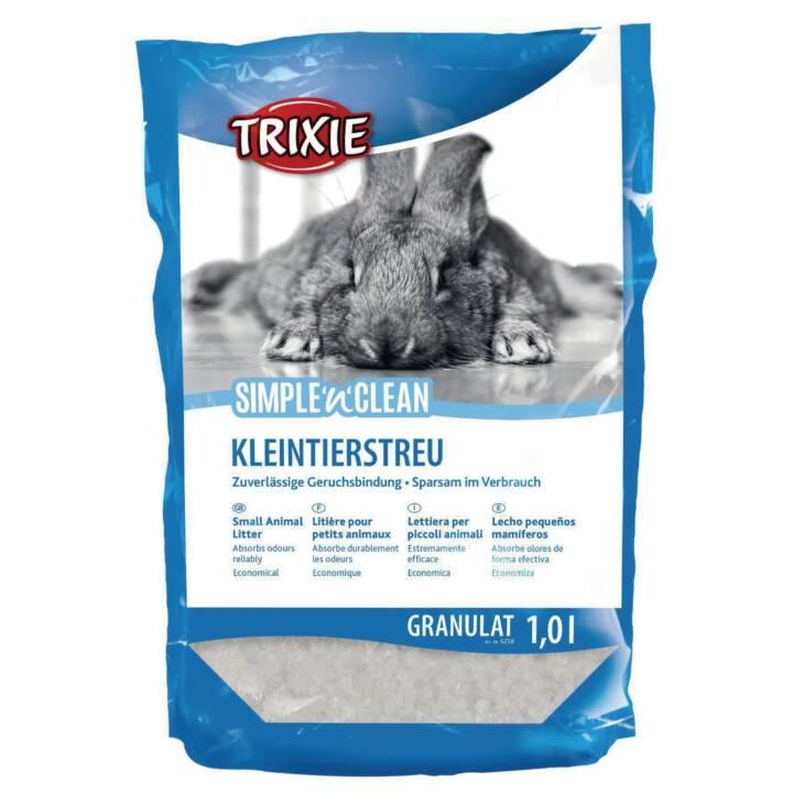 TRIXIE Simple'n'Clean Lettiera (Coniglio, Silicato, 0.4 kg)