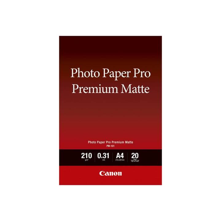 CANON Pro Premium PM-101 Fotopapier (20 Blatt, A4, 210 g/m2)
