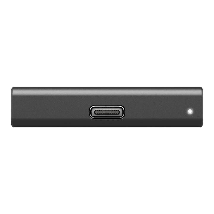 SEAGATE STKG500400  (USB 3.2, 500 GB, Schwarz)