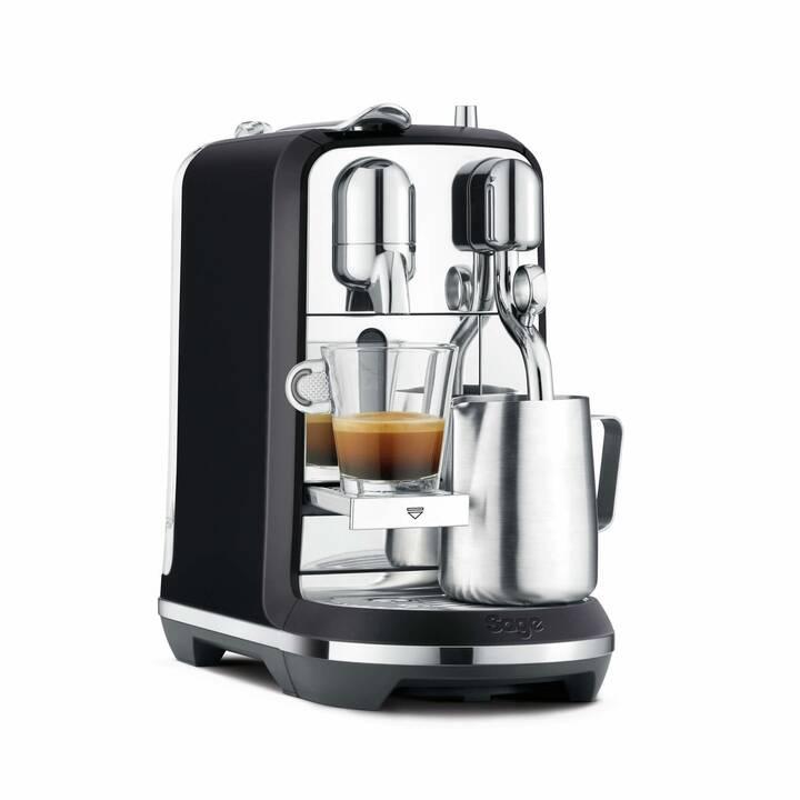 SAGE Creatista Plus Black Truffel (Nespresso, Black Truffel)