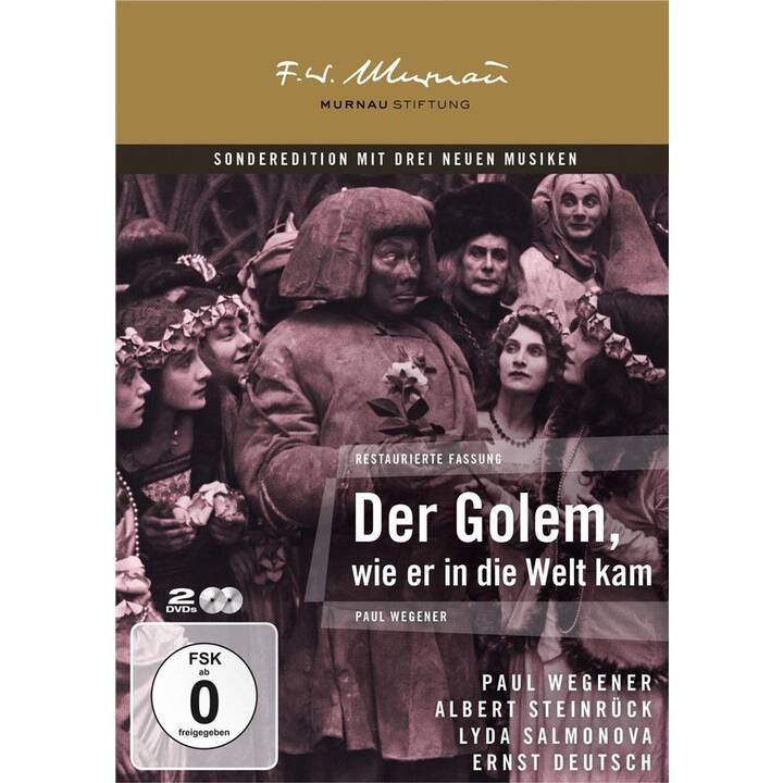 Der Golem - Wie er in die Welt kam (DE)