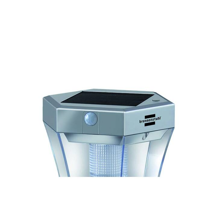 BRENNENSTUHL Lampe solaire (LED incorporé, 3 W, Aluminium)