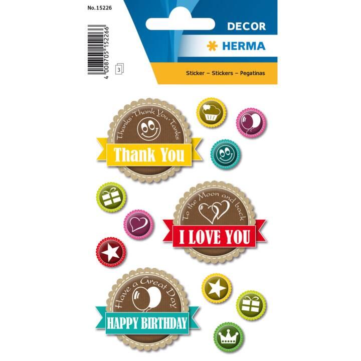 HERMA Sticker Happy Day