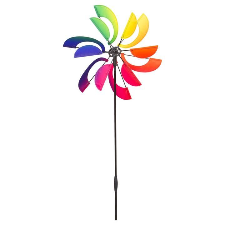 INVENTO-HQ Ruota a vento Rainbow Swirl (Multicolore, 41 cm x 120 cm)