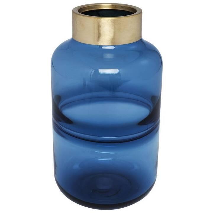 KARE Vaso Positano Belly (28 cm x 16 cm, Blu)