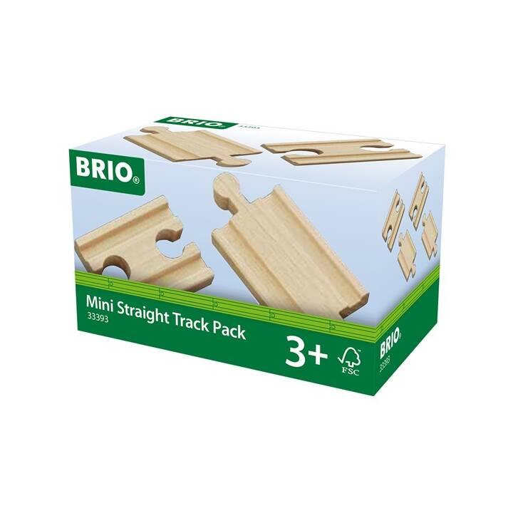 BRIO Rails droits Mini