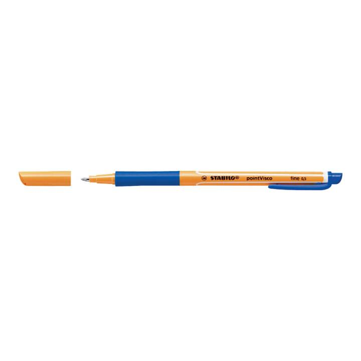 STABILO pointVisco Tintenroller, Blau