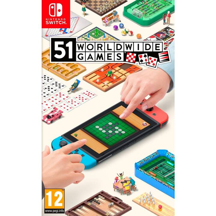 51 Worldwide Games (DE, FR, IT)