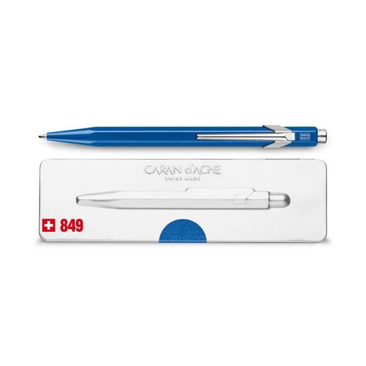 CARAN D'ACHE Kugelschreiber 849 mit Etui Blau