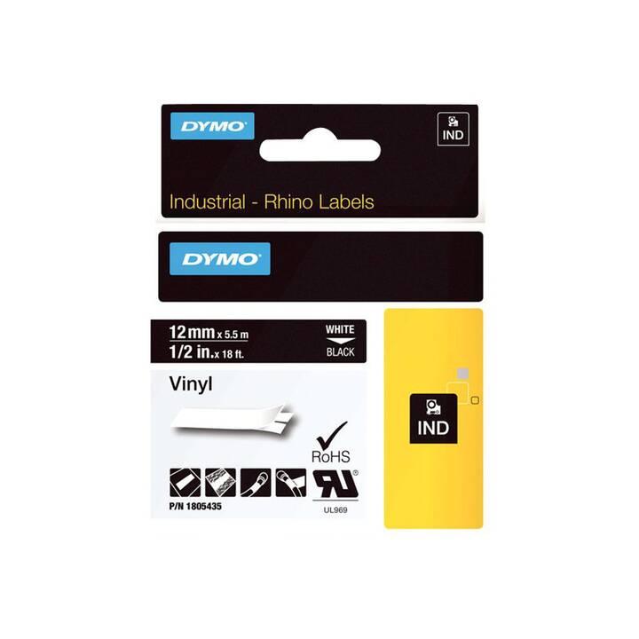 DYMO Rhino Coloured Vinyl Etichette (1,2 cm x 5,5 m)