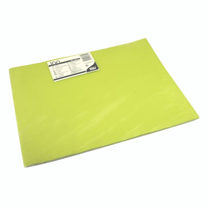 PAPSTAR Tovaglietta (100 Stk, Carta, Verde)