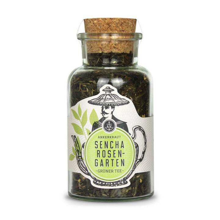 ANKERKRAUT Sencha Rosengarten Thé vert (Thé en vrac, 70 g)