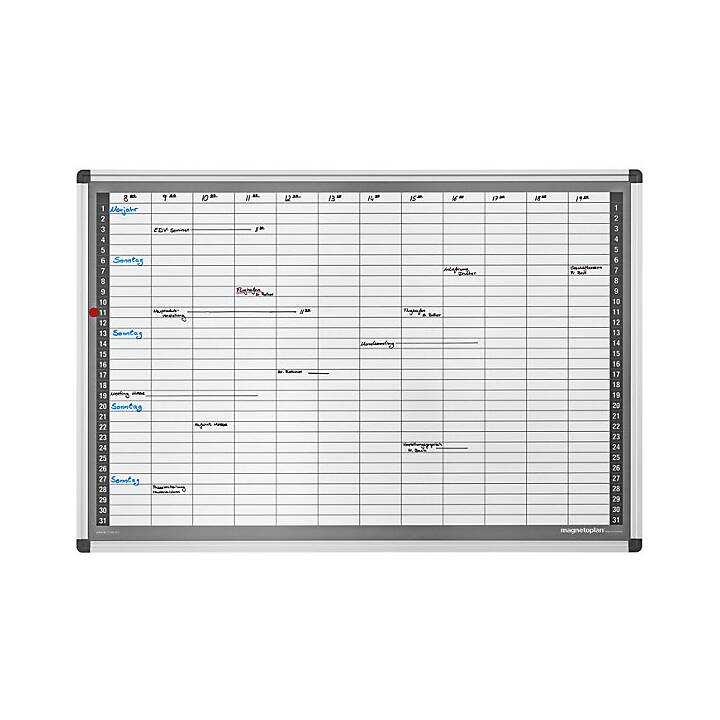 Monatsplaner-Set, Typ CC, BxH 920 x 625