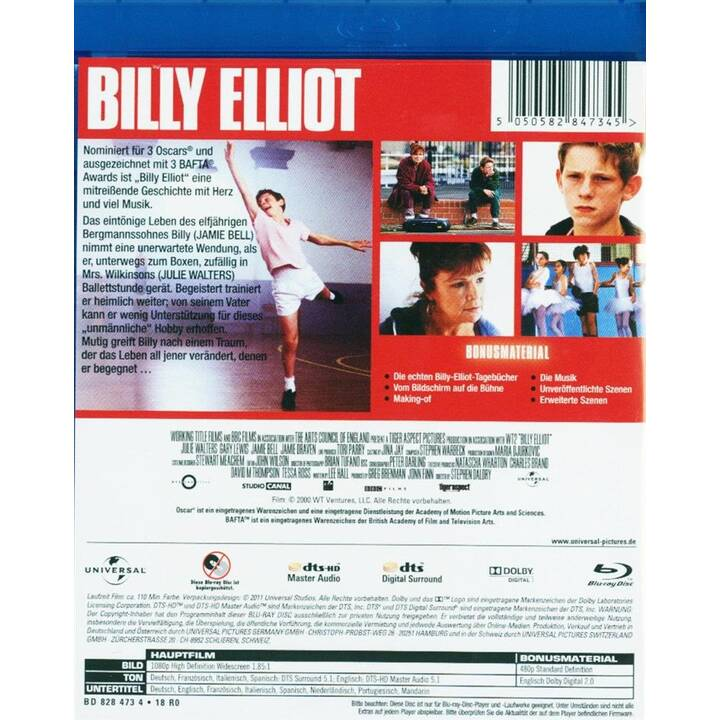 Billy Elliot (IT, ES, DE, EN, FR)