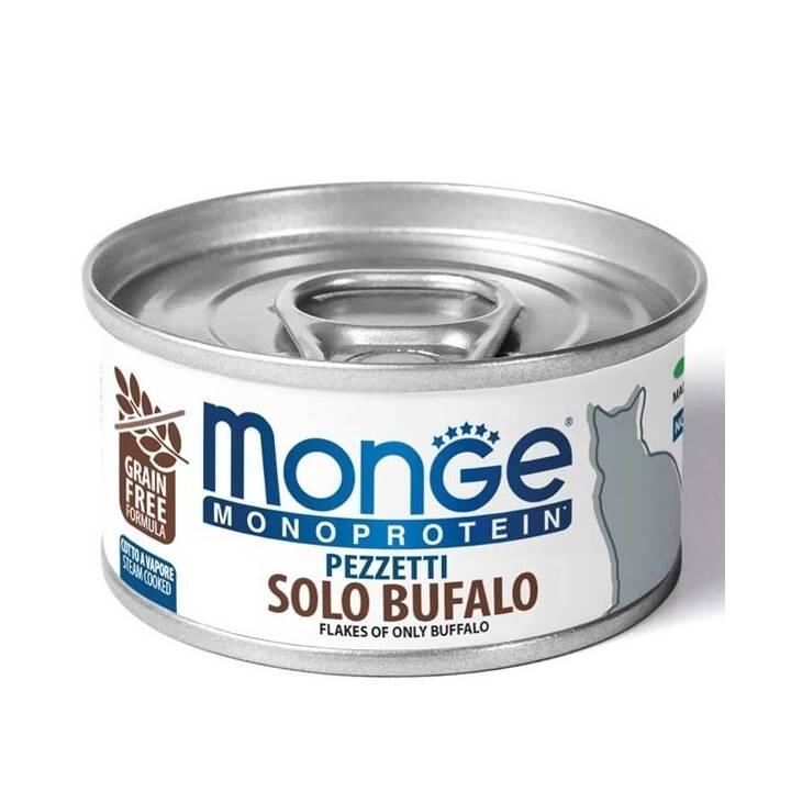 MONGE Monoprotein (Adulto, 80 g, Bufalo)