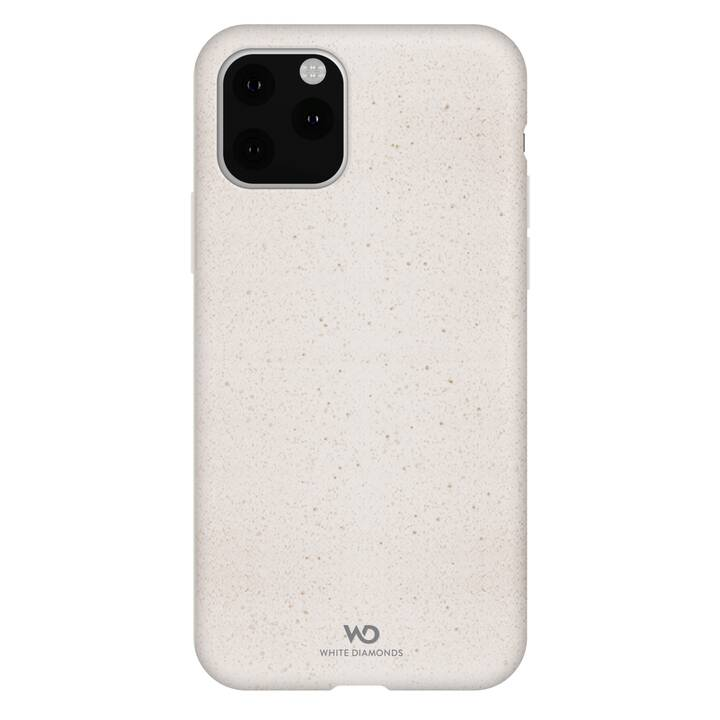WHITE DIAMONDS Backcover Good (iPhone 11 Pro Max, Blanc)