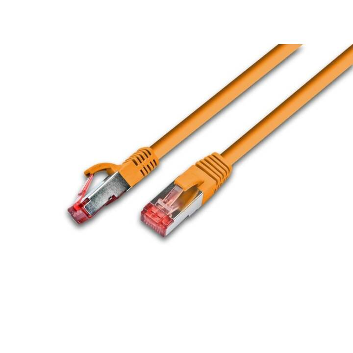 WIREWIN Patch-Kabel - 70 m - orange