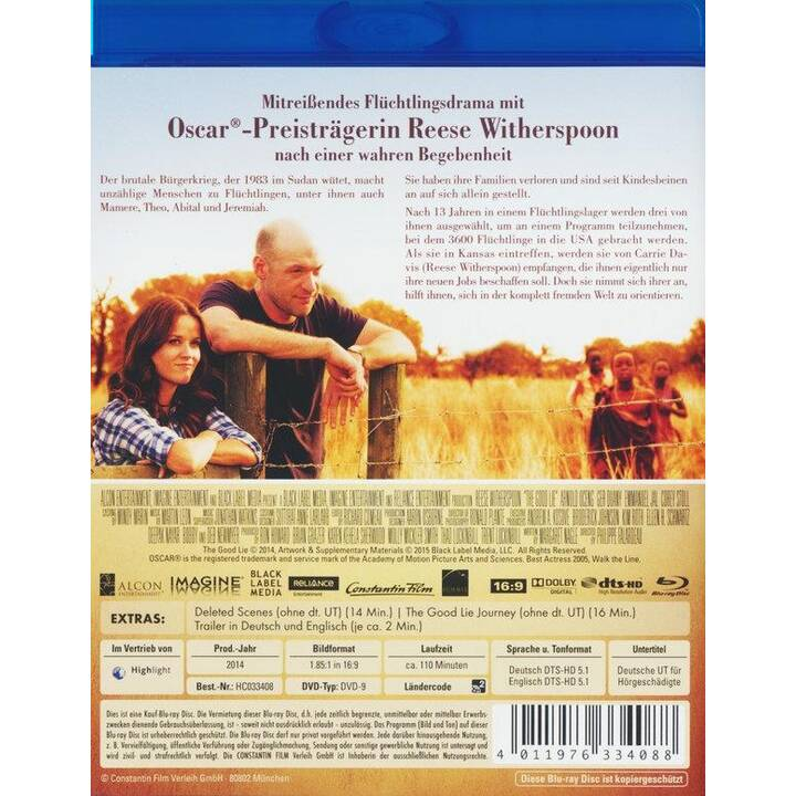 The Good Lie - Der Preis der Freiheit (DE, EN)