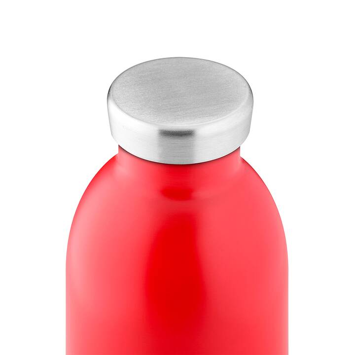 24BOTTLES Thermo Trinkflasche Clima (0.85 l, Rot)