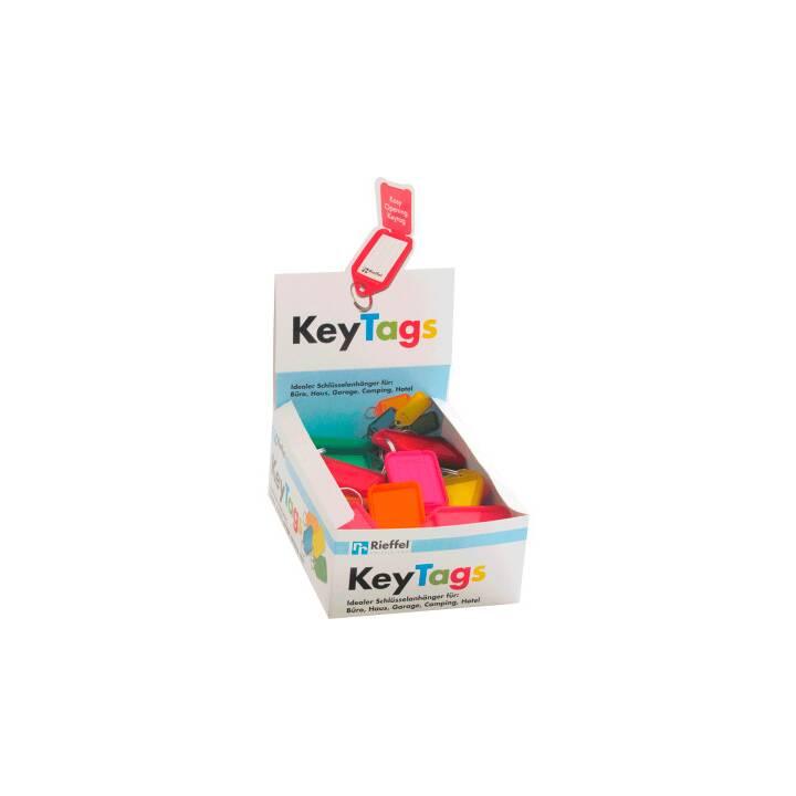 RIEFFEL KeyTags Schlüsselschilder, 38 x 22 cm, 50 Stk.