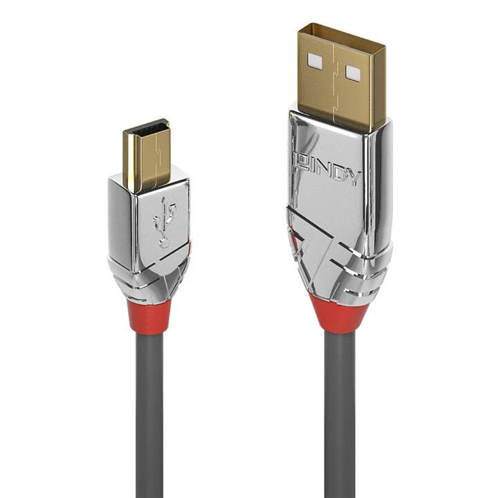 LINDY USB-A /Mini-B, 0,5 m
