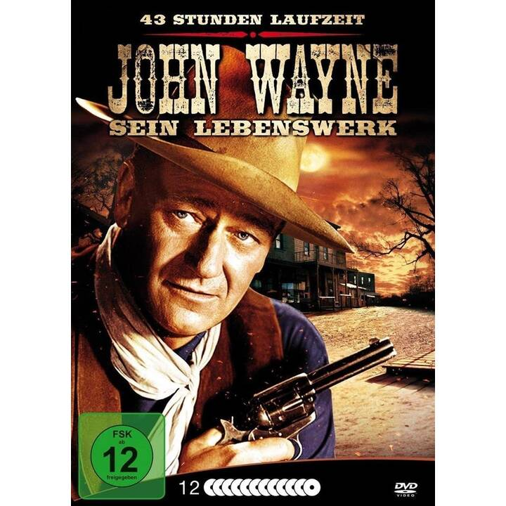 John Wayne - Sein Lebenswerk (DE, EN)